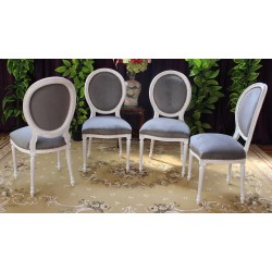 copy of 6 CHAISES MEDAILLON...